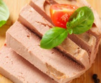 Ultrasonic commercial pate slicing & cutting